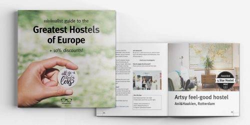Best Hostels Europe 2017 (+10% discounts)