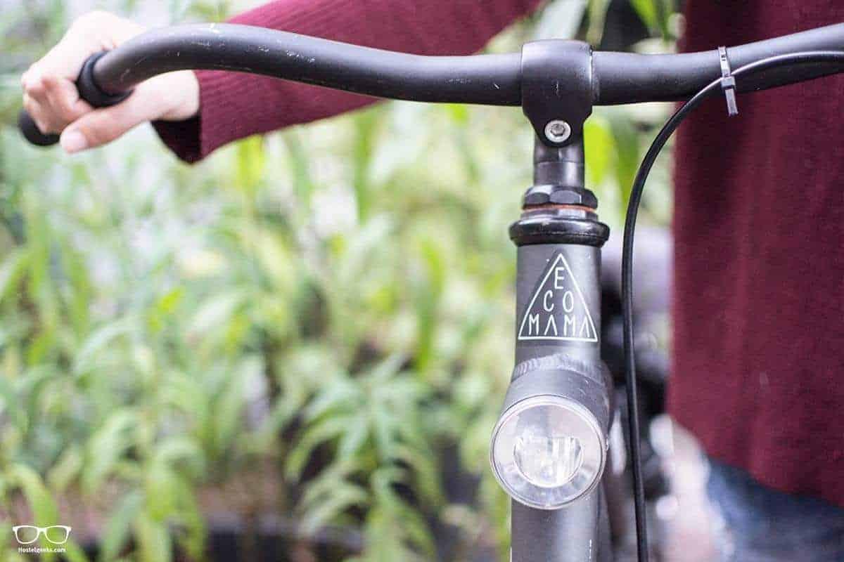 Fahrradverleih direkt im Ecomama Hostel