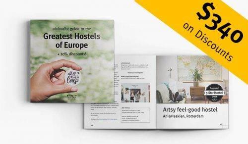 Best Hostels Europe 2017 + 10% discount