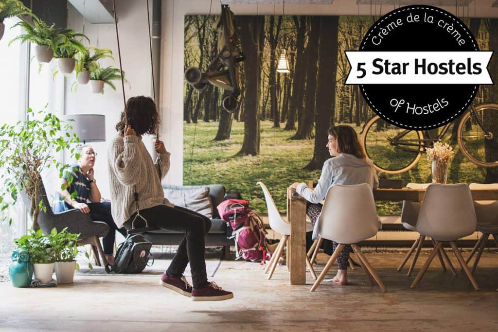 Swing it at Ecomama Amsterdam - the perfect hostel in Amsterdam for SOLO-Travelers