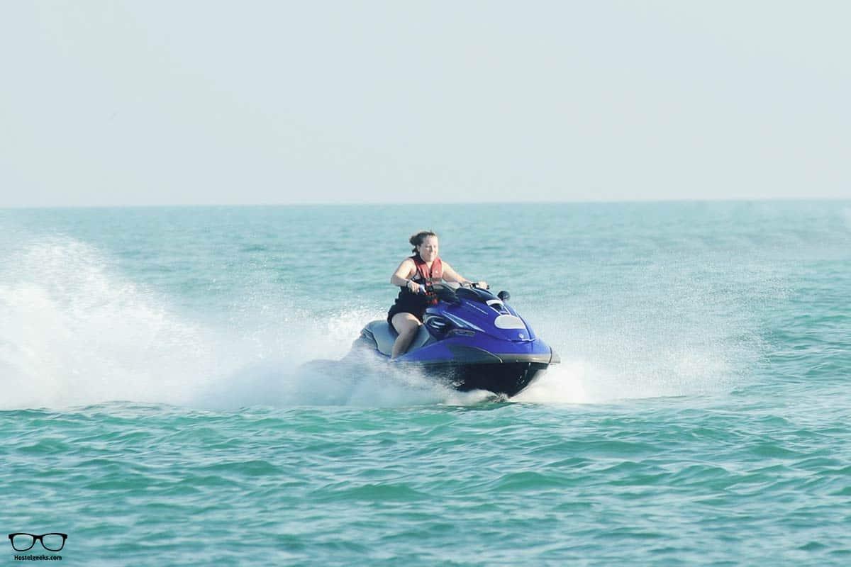 Adrenaline in Santorini with Jetski