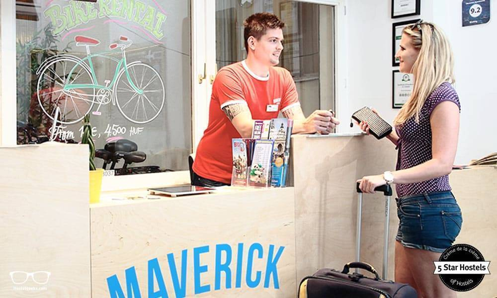 Ask the staff at Maverick Hostel