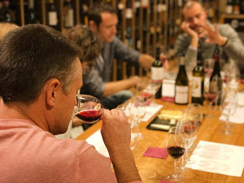 Learning about the art of Wine Tasting
