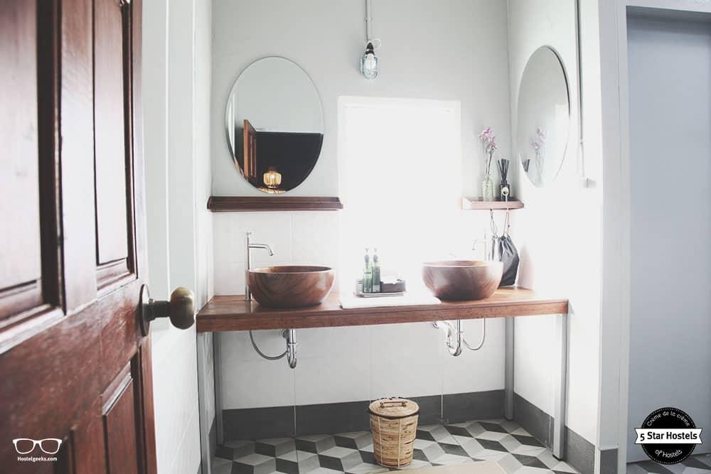 Beautiful bathroom at TRACE Hotelistro