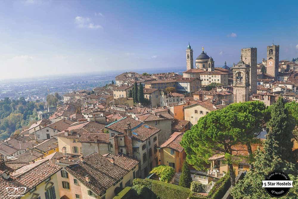 Bergamo, hidden gem in north of Italy