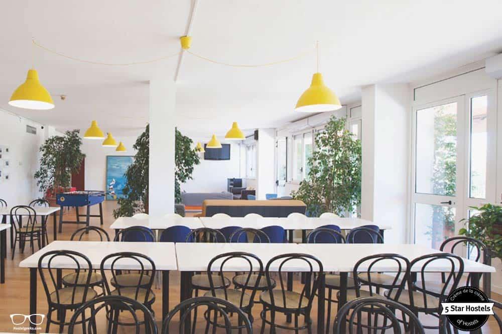 Breakfast room, Bergamo Hostel