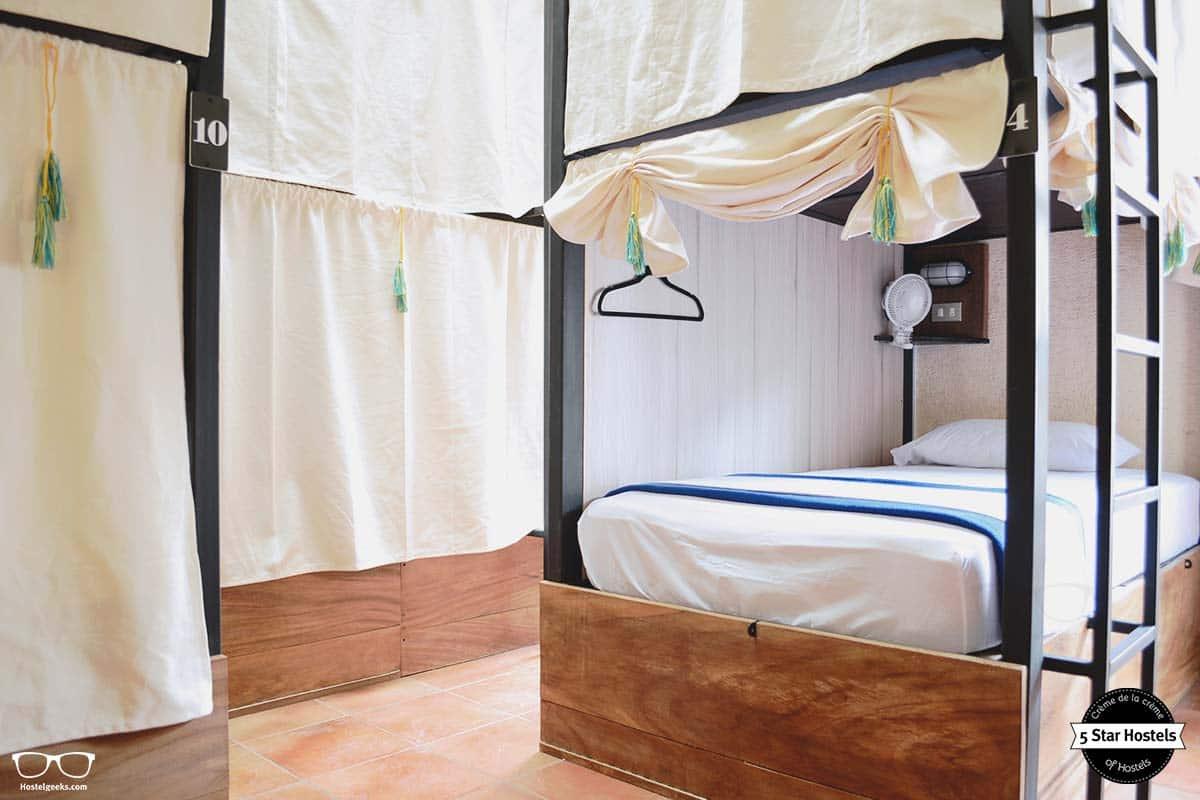 Personal space at Cucuruchos Boutique Hostel