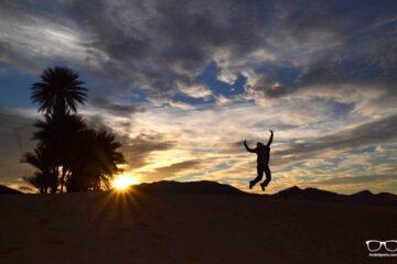 Sun Rise in the Desert of Morocco - Lasting Travel Memories