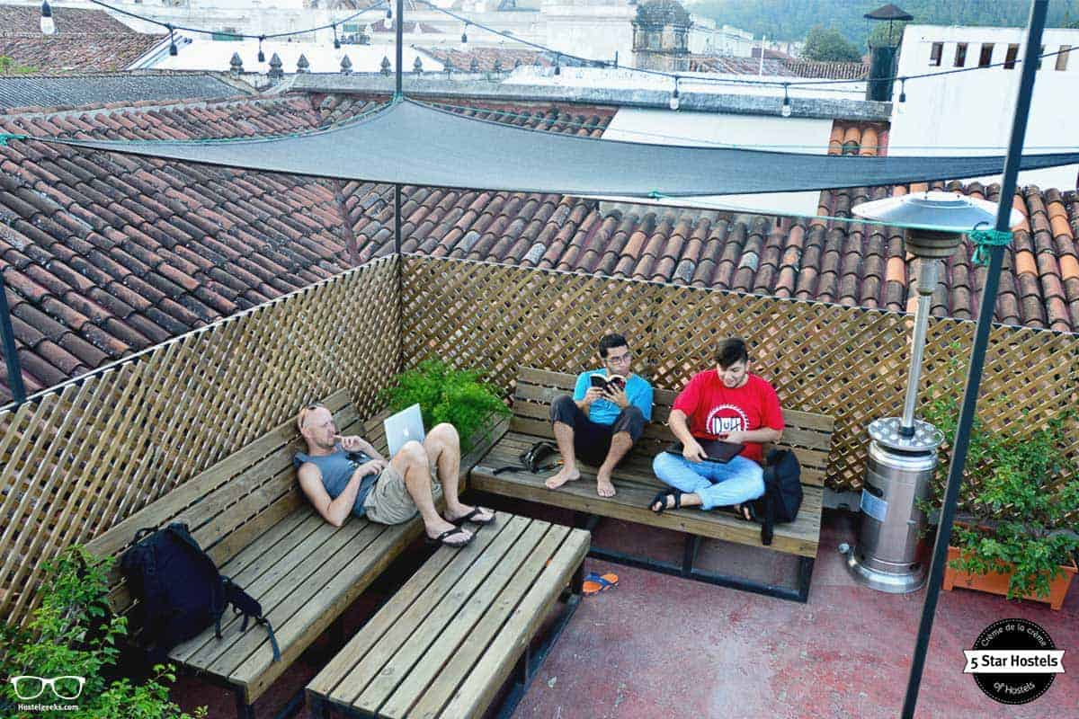 Relaxing time at Cucuruchos Boutique Hostel