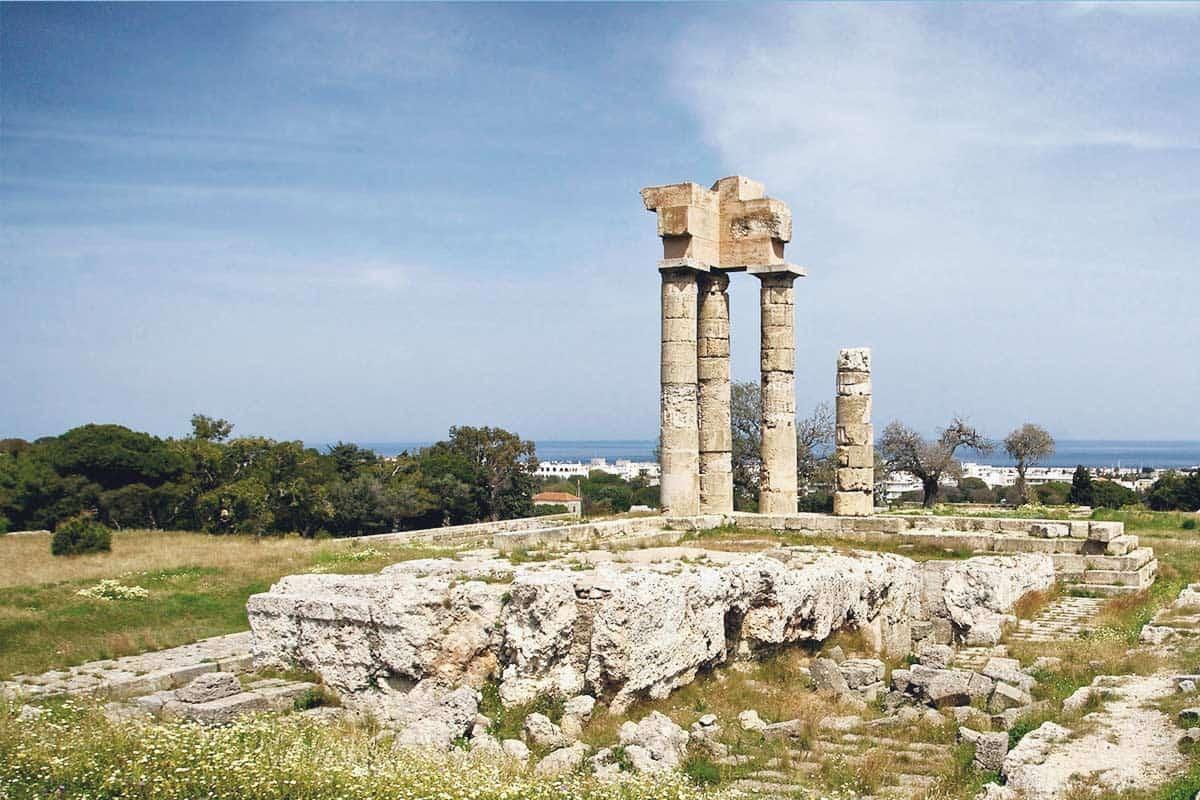 Acropolis Rhodes, Dodecanese island