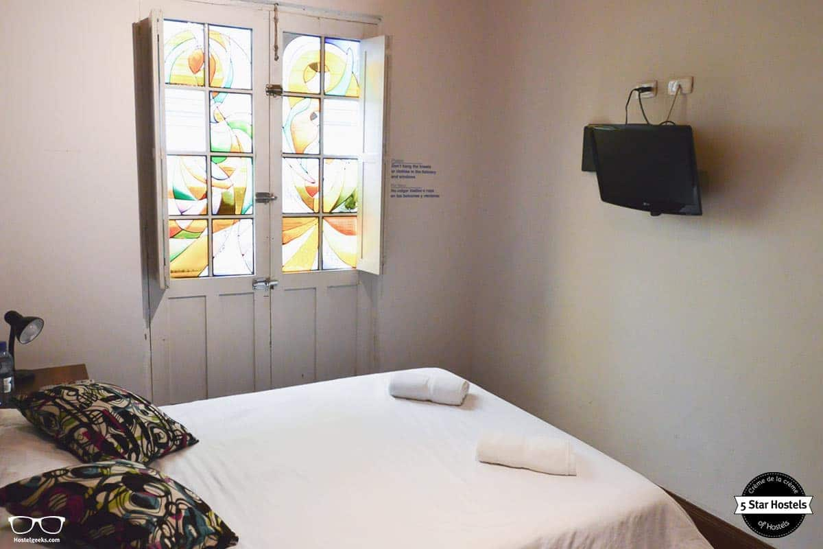 Double room at Hobu Hostel