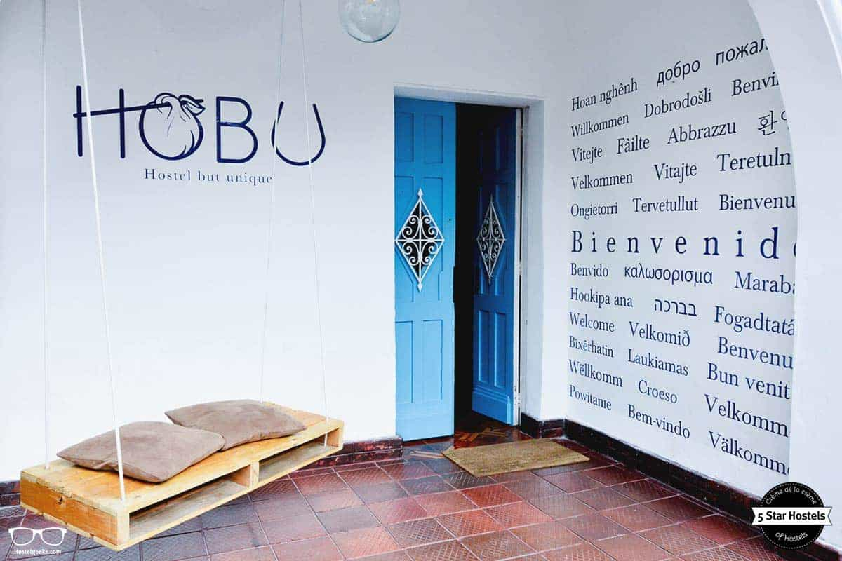Welcome to Hobu Hostel, Bogota