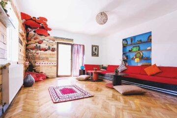 The Spot Cosy Hostel in Cluj, Rumänien - mit den eigenen Händen die Oase erschaffen