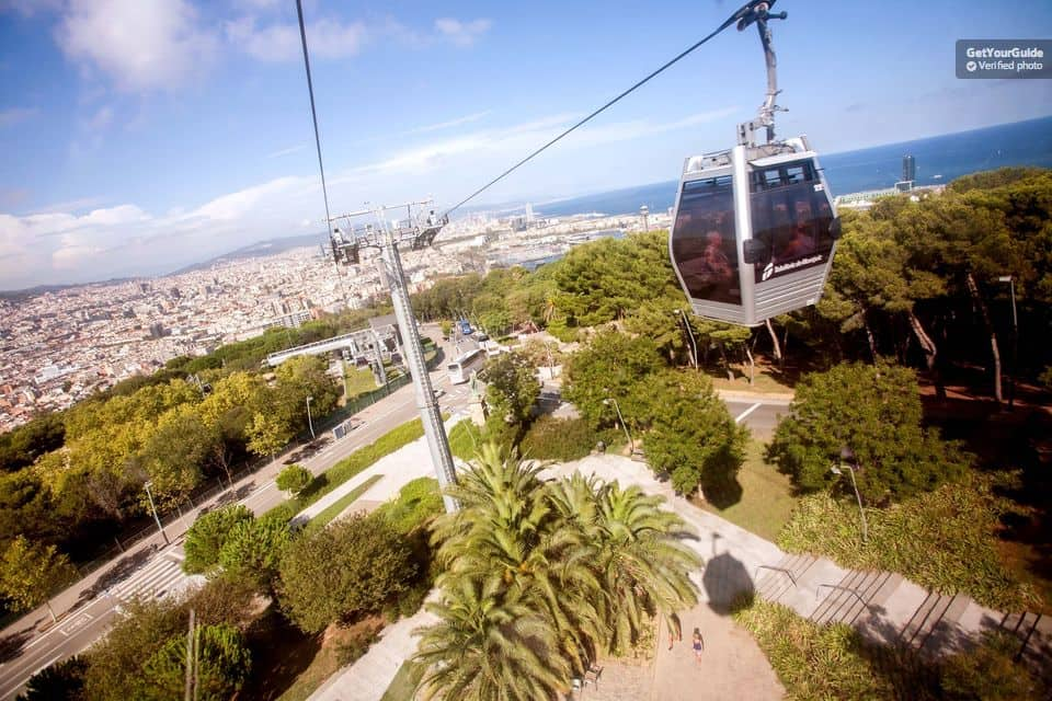 Cable Car Montjuic