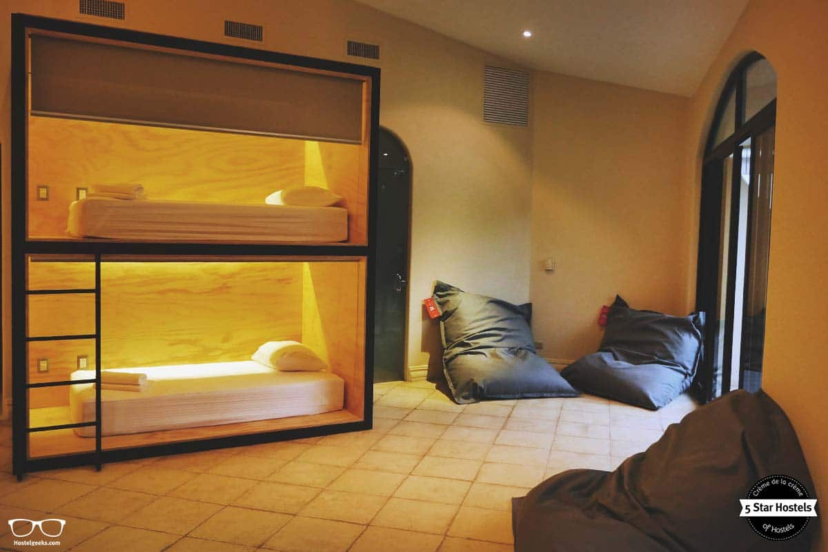 Sleep and relax concept at Fauna Luxury Hostel