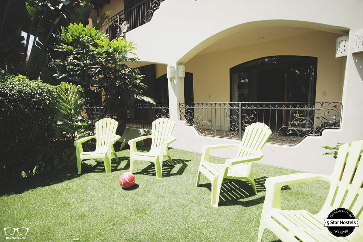 Needing some sun? Fauna Luxury Hostel garden