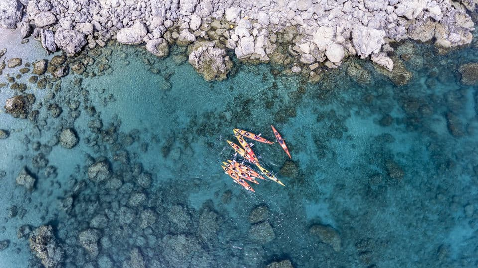 Kayaking in Rhodes - one of the funniest things to do in Rhodes