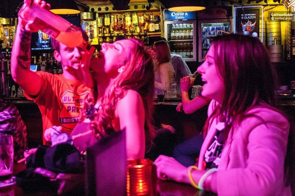 Get drunk at a Pub Crawl