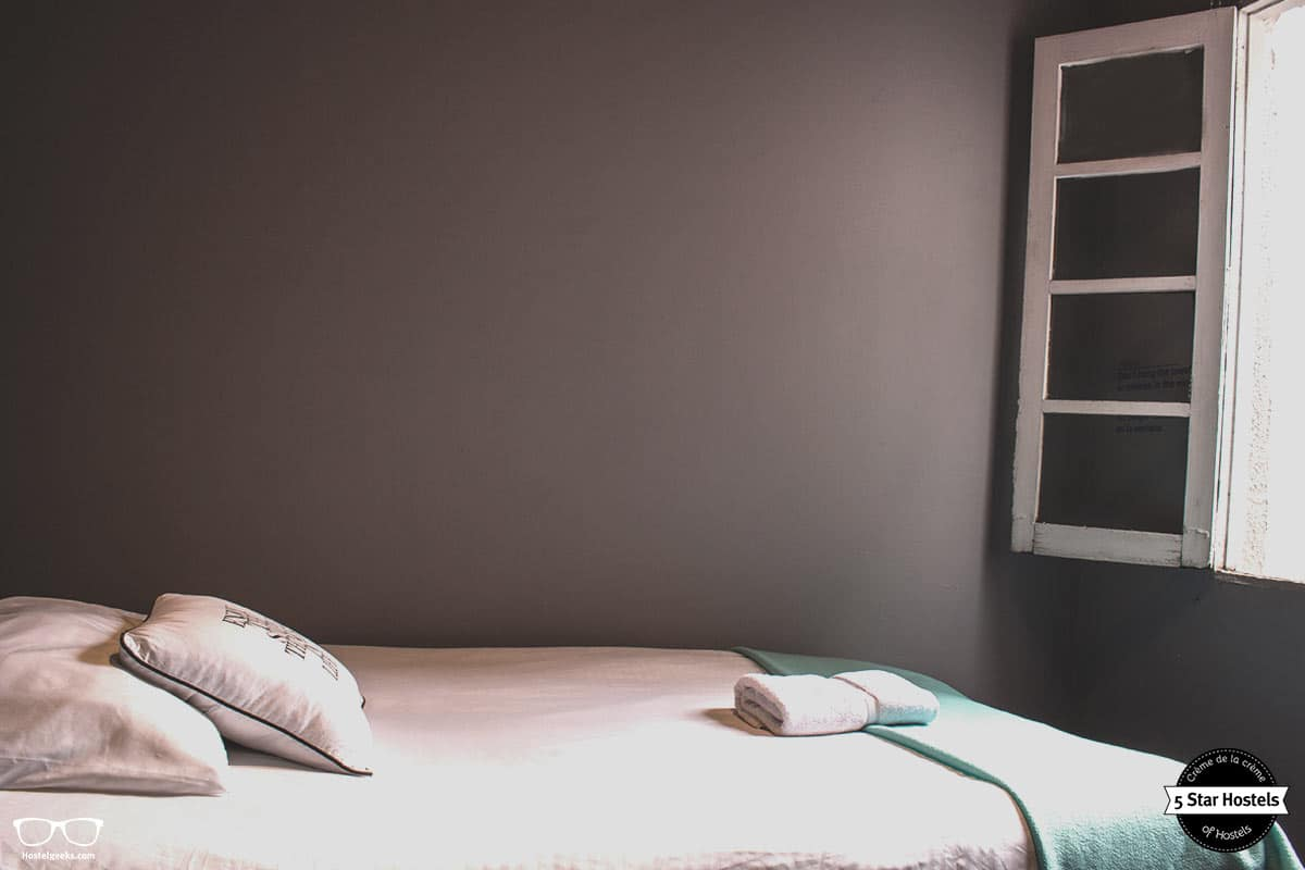 Private single room at Hobu Hostel