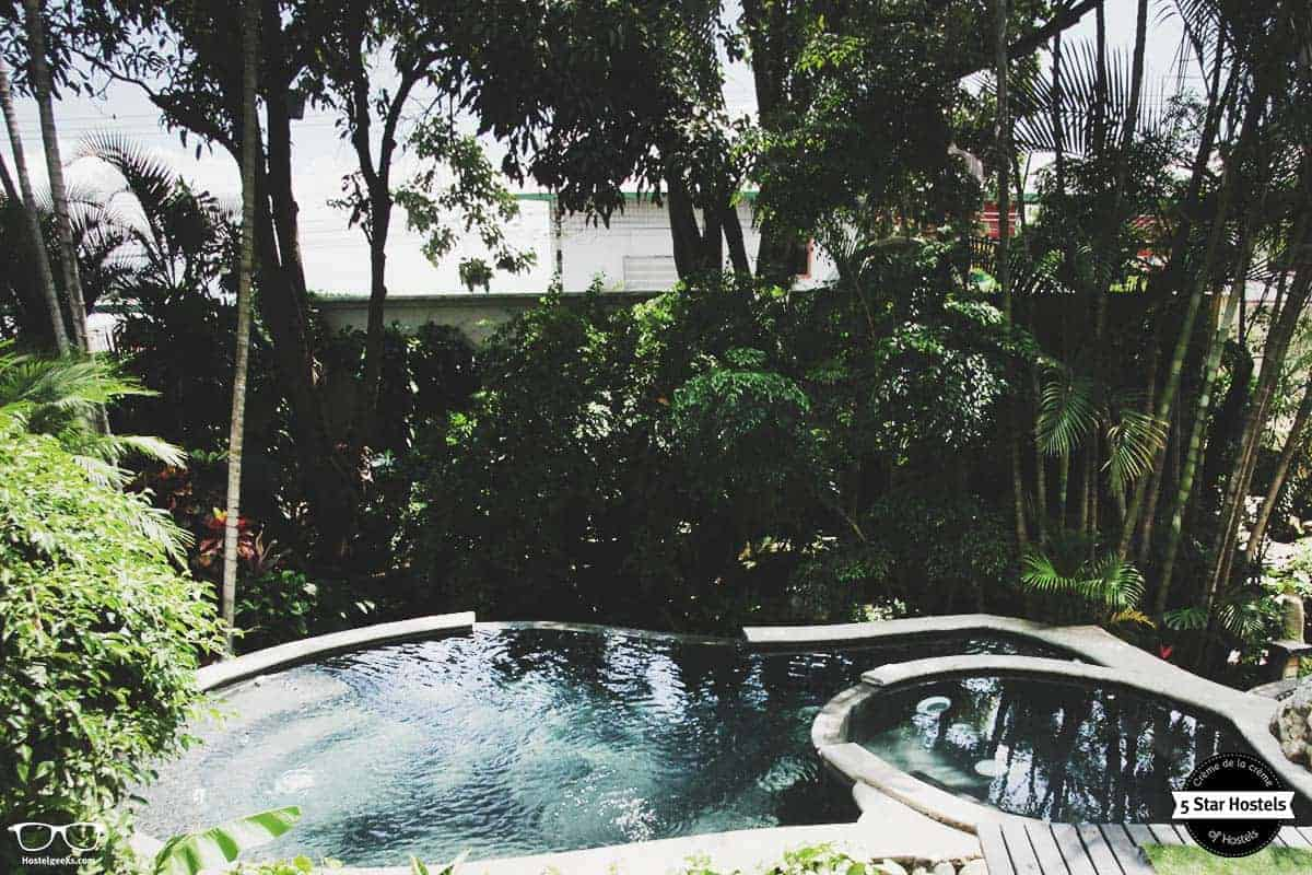 Swimming pool at San Jose luxury Hostel, Fauna Luxury Hostel