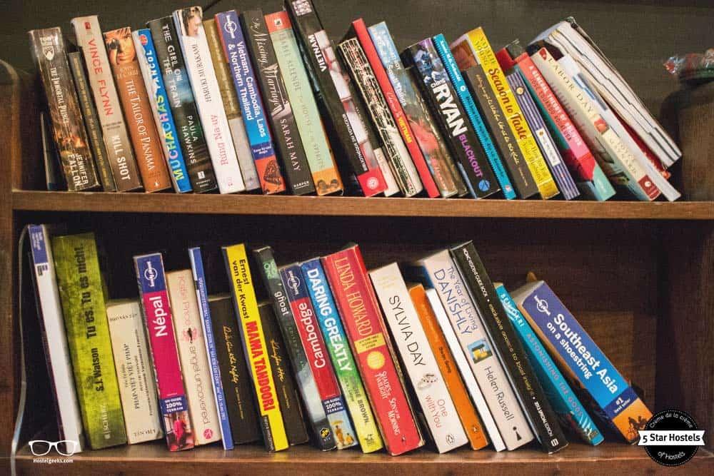 Hostel Book exchange, Ho Chi Min