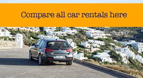 Compare all Car Rentals in Europe - with one click!