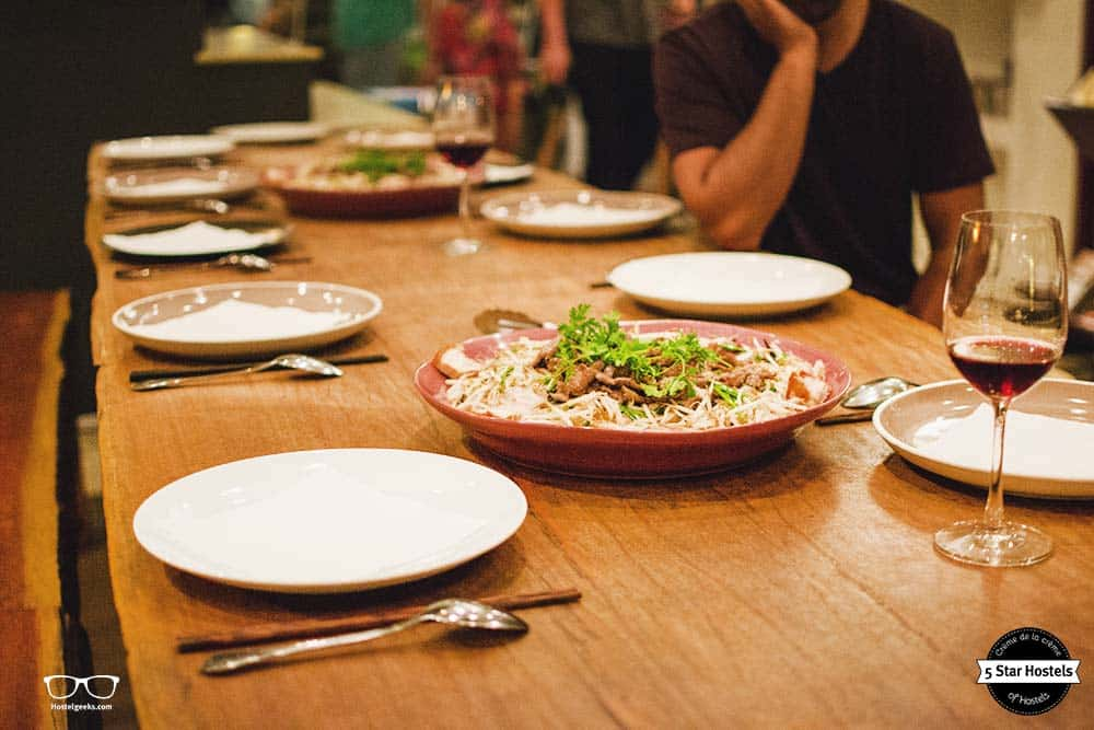Community dinner at The Common Room Project