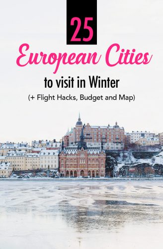 European Cities in Winter