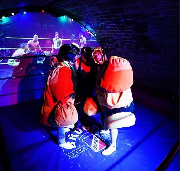 Lucha Libre in Paris - a Fun Place to visit