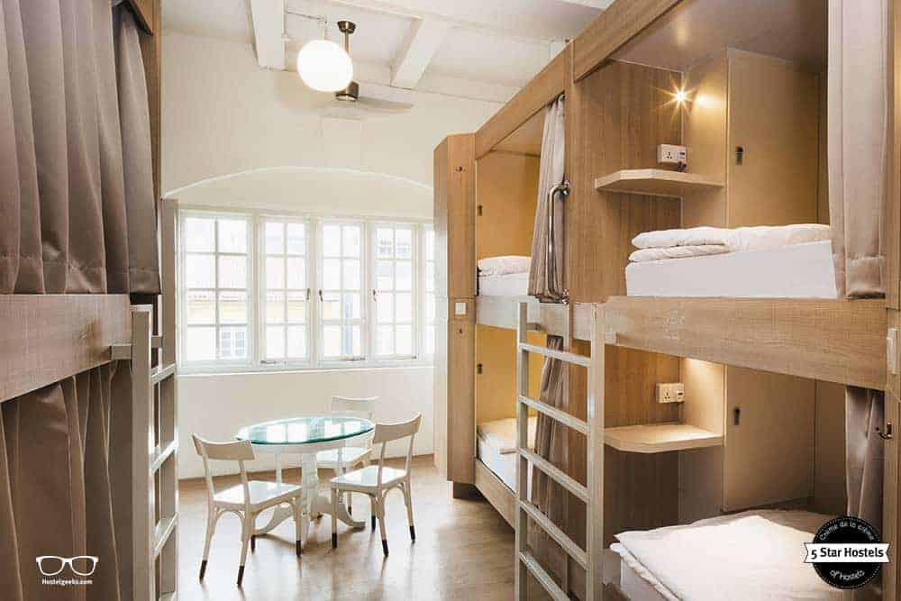 The luxury dorms at Adler Hostel