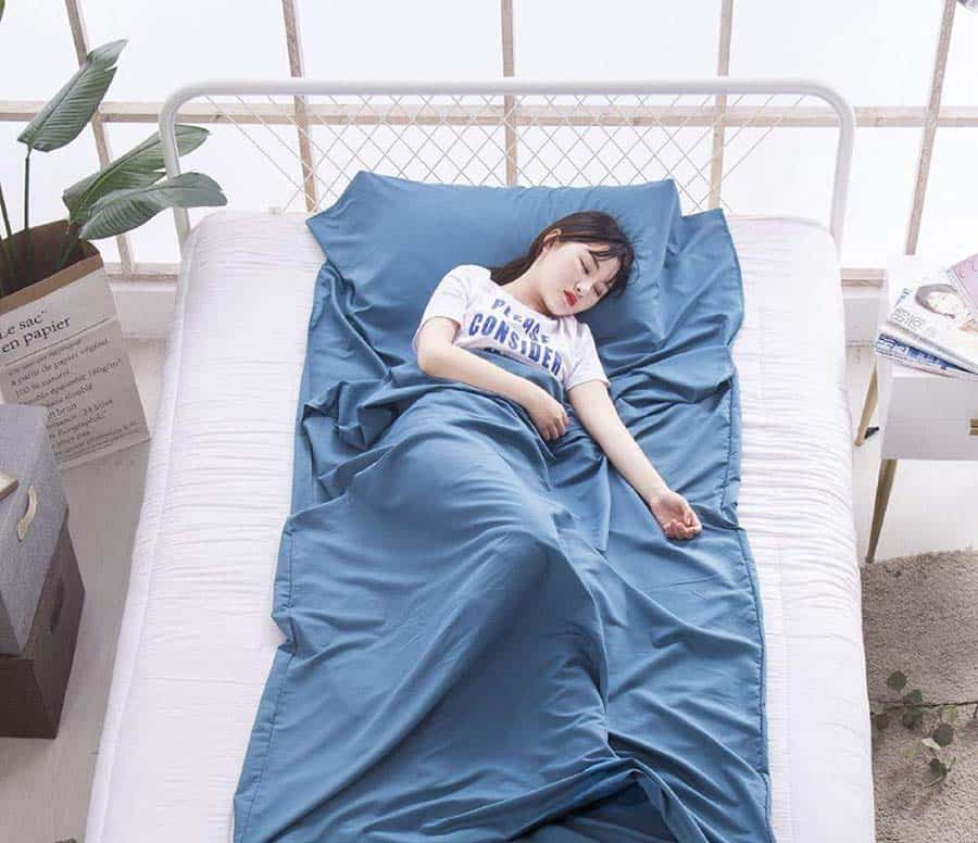 Silk Sleeping Bag - Always a good idea to pack!