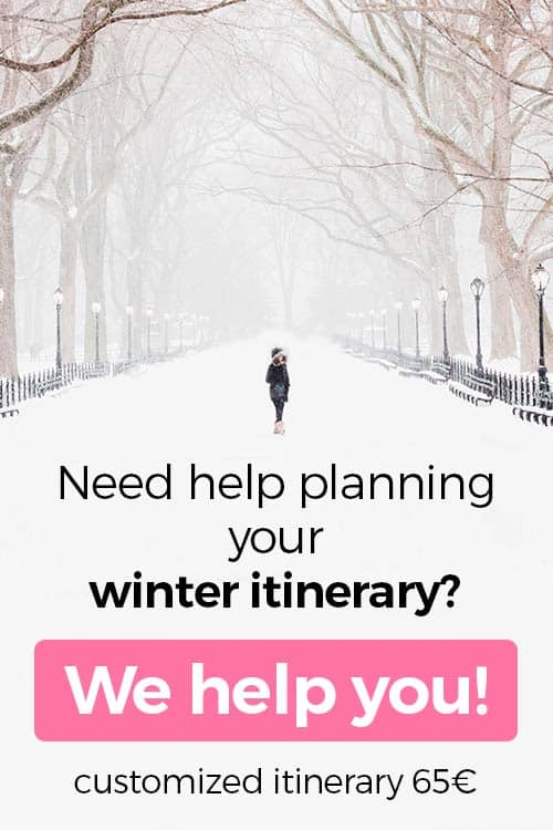 Planning Winter Itinerary Europe
