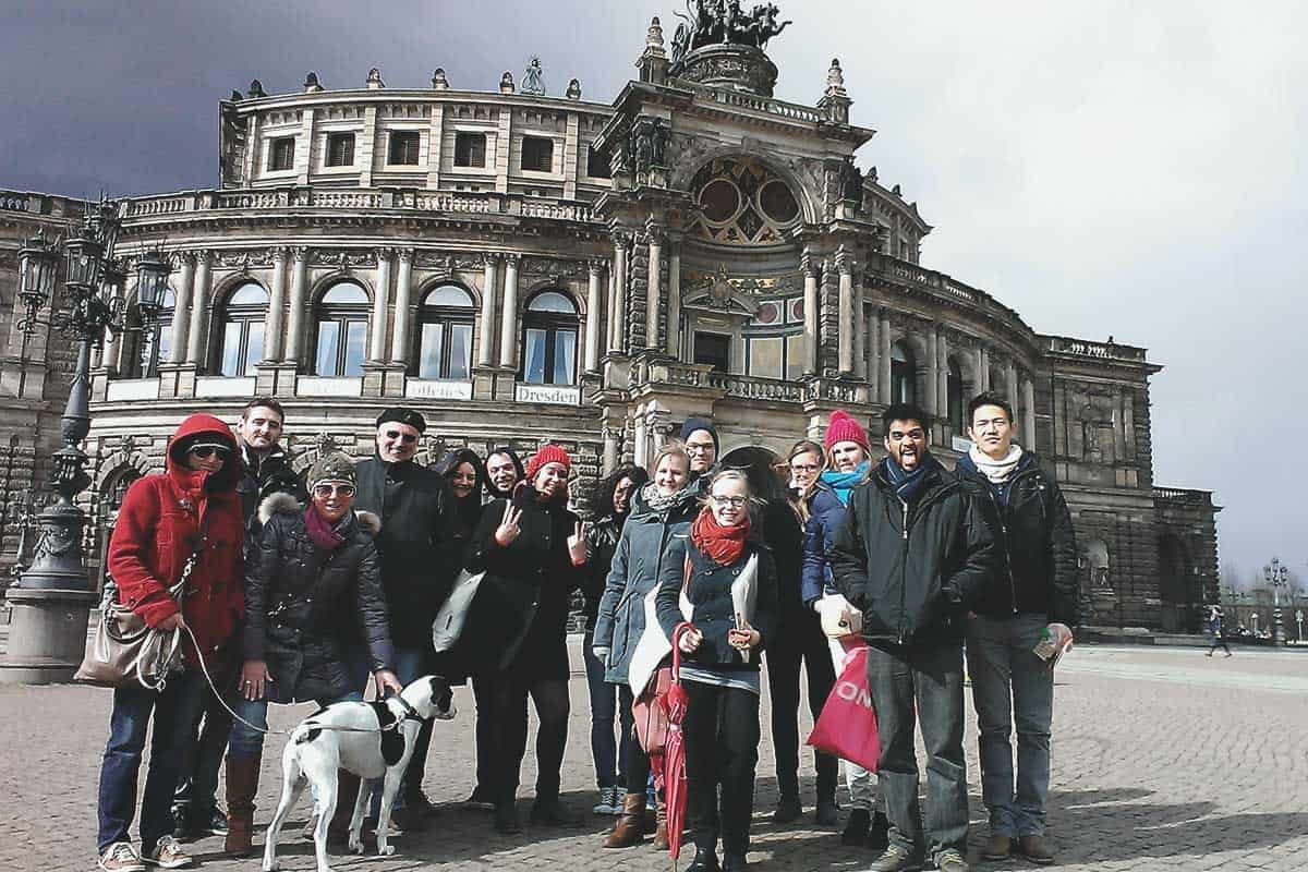 Dresden free walking tour