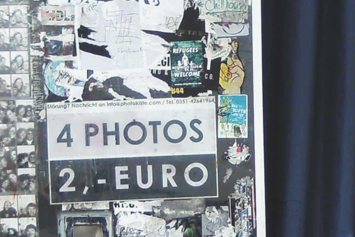 Fotokiste in Dresden
