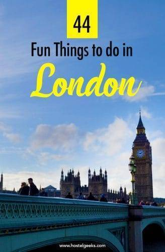 44 Fun Things To Do in London 2018 - from Spies, Kayaking and Public Toilet Bars