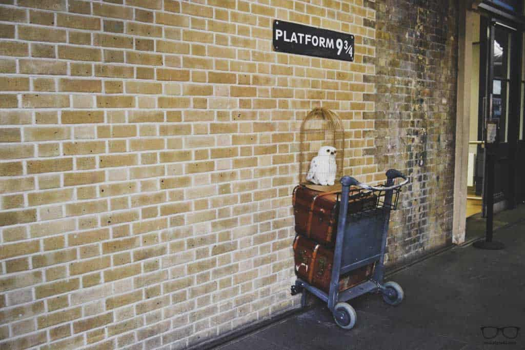 Harry Potter Platform in London Train Station