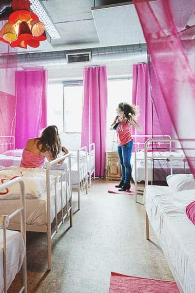 Hostels for female Solo Travelers in Europe
