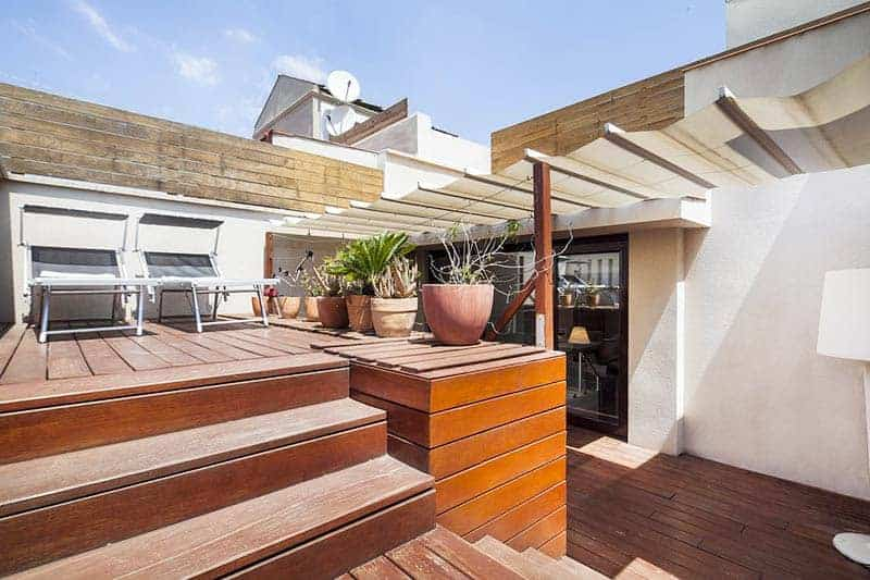 Inside Barcelona Apartments, a great recommendation for friends visiting Barcelona