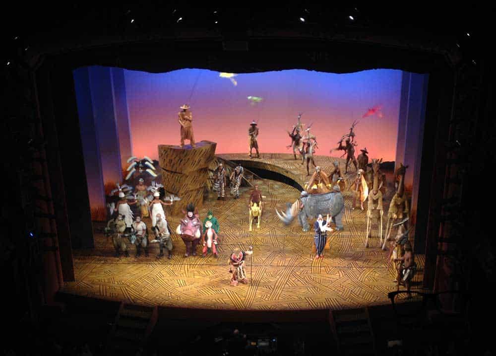 Lion King Musical - it was fantastic!