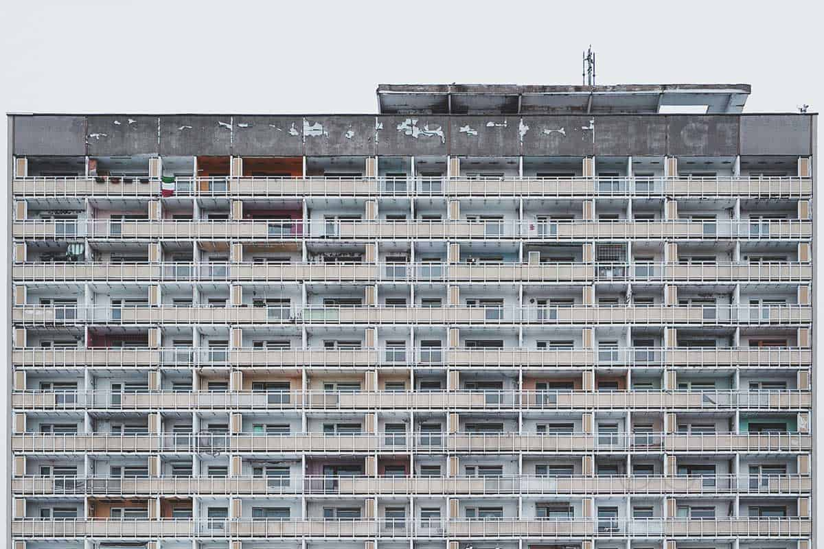 Socialismus building in Dresden