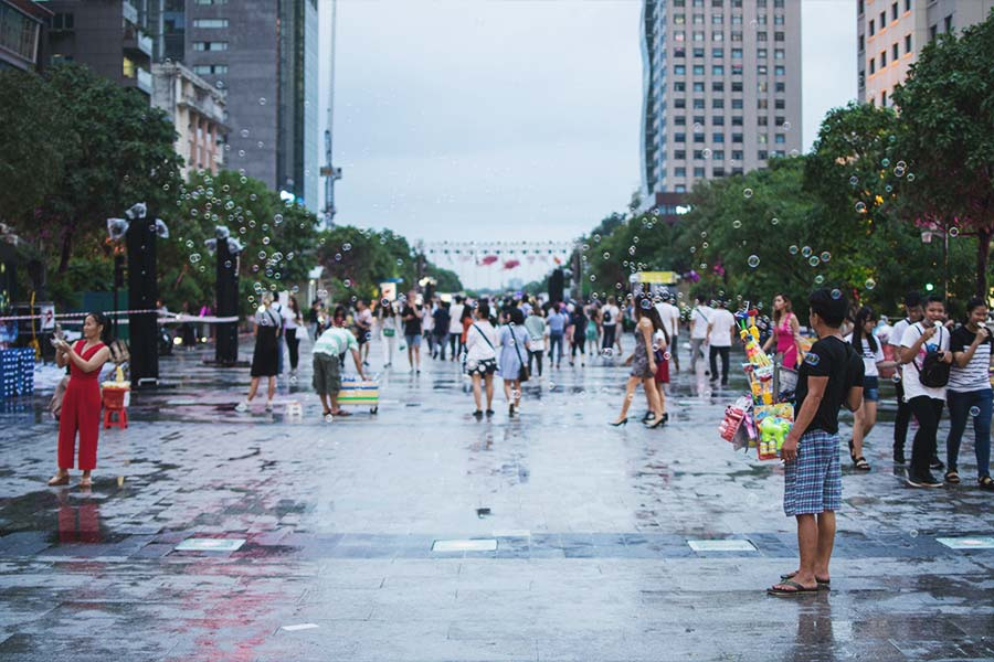 Enjoy your time at Ho Chi Minh City, Vietnam