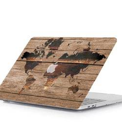 Mac Book Cover World Map