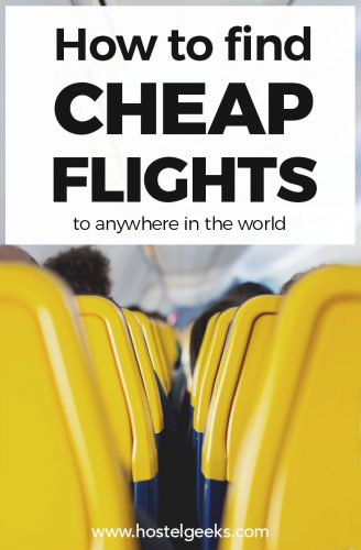 Cheap Flights anywhere in the world