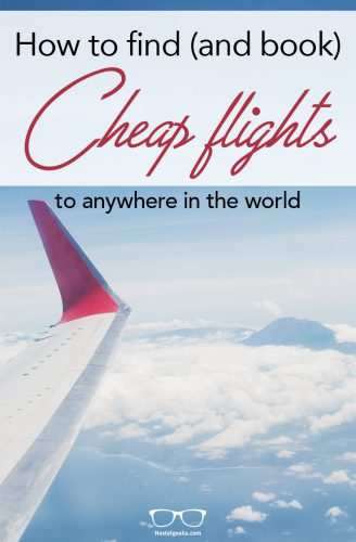 Find cheap flights to anywhere in the world