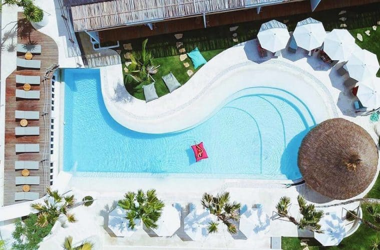 Kos One Hostel in Canggu, Indonesia is a boutique 5 Star Hostel for female solo travellers