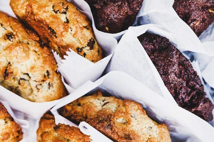 Make your mouth water with chocolate cookies at Levain Bakery New York