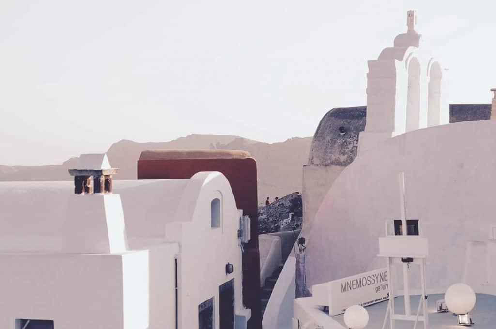 Terraces of Santorini