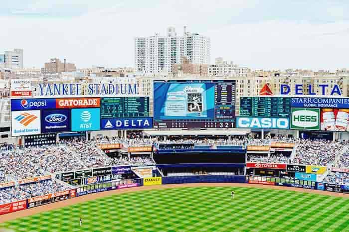 Enjoy a game at Baseball game at Yankees stadium in New York City