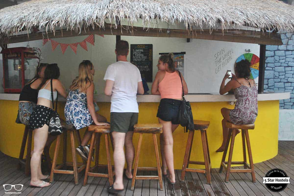 Wanna have a drink? Gili Mansion bar is open
