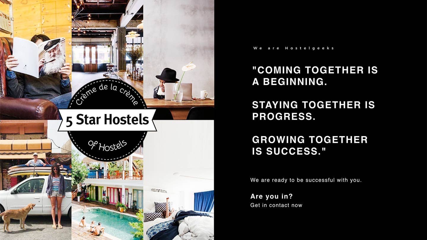 Become a 5 Star Hostel